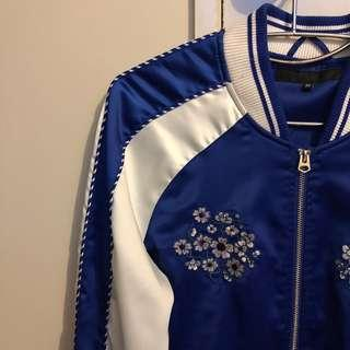 Bomber Jacket - Royal Blue