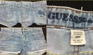 Repriced🔥 Maong Shorts / Guess Jeans