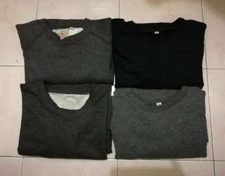Black Friday crazy combo sale uniqlo sweatshirt and avirex