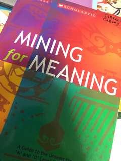 MINING FOR MEANING(Literature)