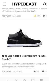 Nike SB Eric Koston MID original