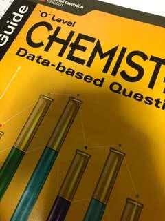 O LEVEL PURE CHEMISTRY DATA BASED QNS