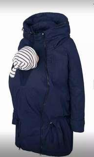 Winter Jacket for pregnancy and baby carrier