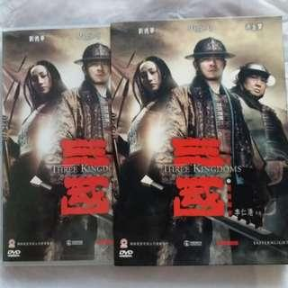 DVD 港版 三國之見龍卸甲