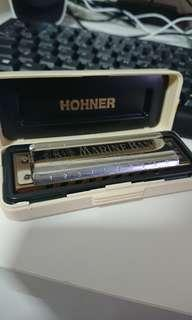 Marine Brand Hohner Harmonica (C tune)