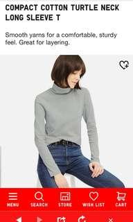 Uniqlo Basic Turtleneck