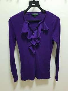 Ralph lauren Purple Long sleeve
