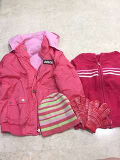 dd79e2147c7f1 Girls Winter Jacket and accessories