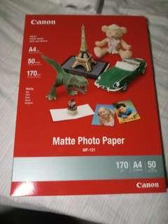 Matte Photo Paper MP101