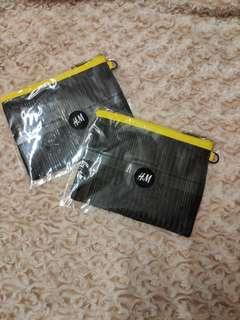 [全新] H&M 筆袋 雜物 拉鏈袋