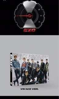 EXO [ DONT MESS UP MY TEMPO] (Viviace Ver ) ( Limited Edition)