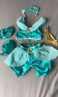 Build-a-Bear  Jasmine costume