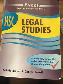 HSC legal studies text book and notes includes all options