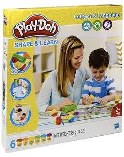 Play-Doh Shape & Learn Letter & Language