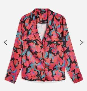 Topshop Floral Shirt