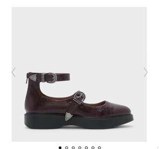 NEW Charles & Keith mary janes