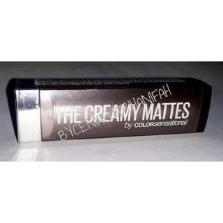 JUAL MURAH AJA, BARANG FAVORIT, MAYBELLINE COLOR SENSATIONAL CREAMY MATTES  SHADE TOUCH OF SPICE