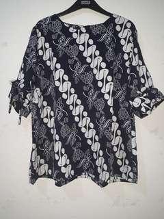 Blouse batik bigsize