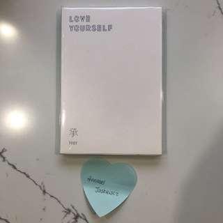 BTS LOVE YOURSELF HER ALBUM