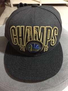 d22cf37c743 Men s Golden State Warriors New Era Charcoal 2018 NBA Finals Champions  Locker Room 9FIFTY Snapback Adjustable
