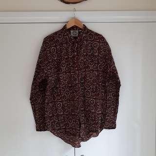 Vintage Patterned Shirt