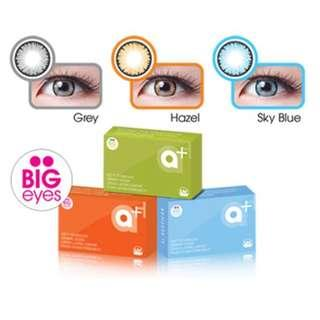 a+ Big eyes by Exoticon X2 Softlens
