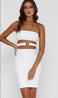 Meshki Ivory Esma Dress