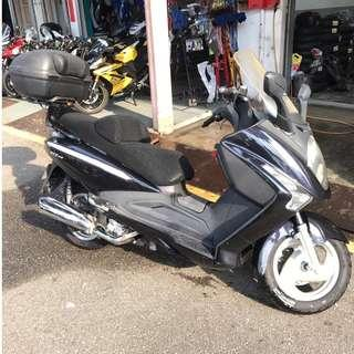 SYM GTS 200 MAXI SCOOTER