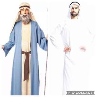 IN STOCK Arab Costume Traditional around the world costume shepherd costume Christmas play costume three wise men costume apostle costume