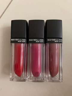 Maybeline lips