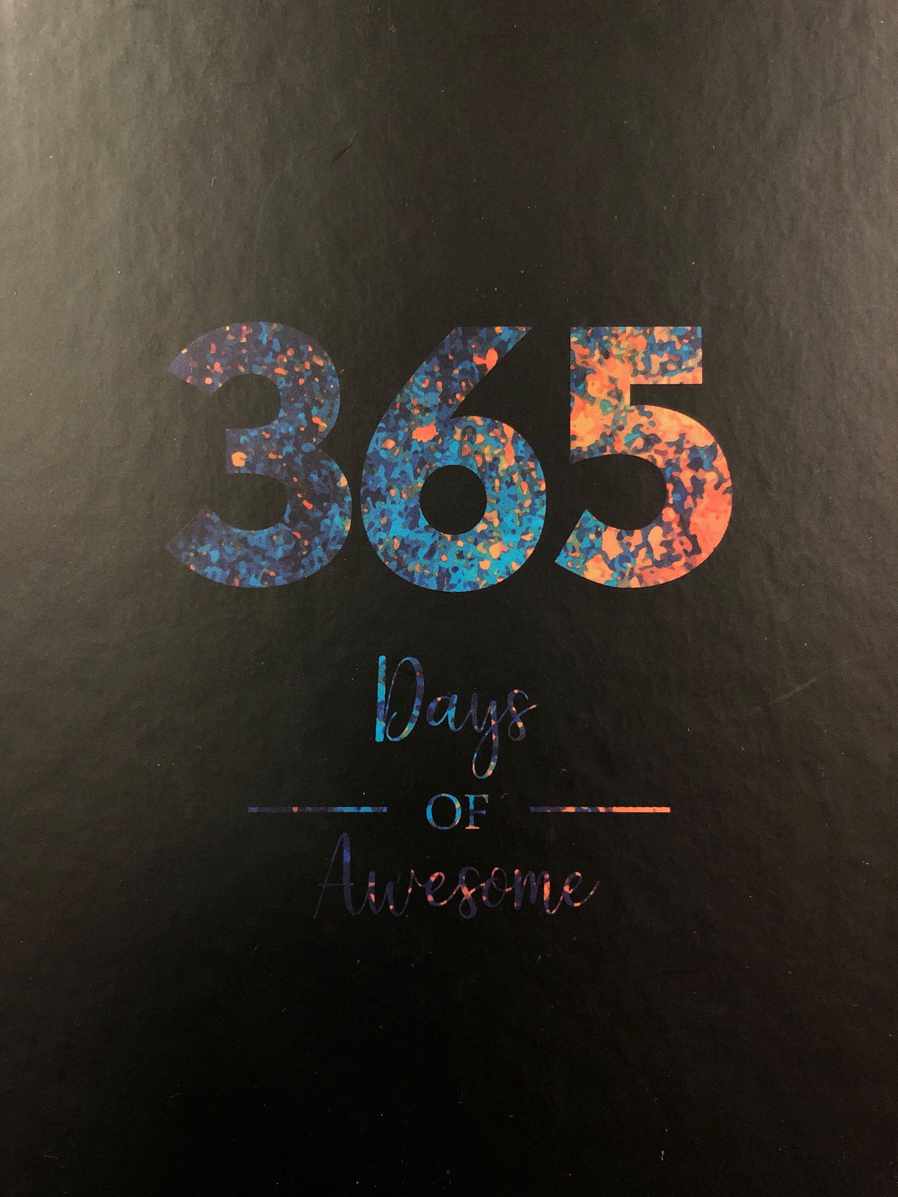 2019 Planner 365 Days Of Awesome From National Book Store Looking