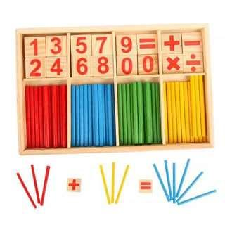 Wooden toy for toddler and kids