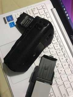 Battery grip for canon 600d 550d