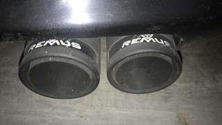 BMW 525 Remus Exhaust (LTA approved)