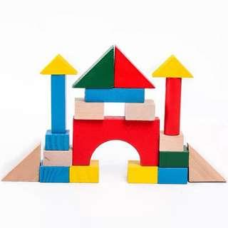 Wooden shape toy