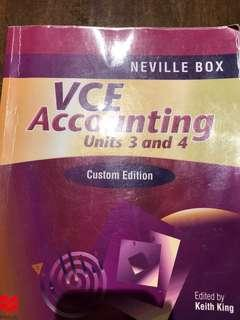 VCE Accounting Units 3&4 textbook