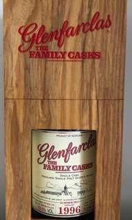Glenfarclas 1996 Family Cask S14 Cask 518 ,1 of 588.
