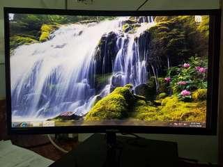 "Samsung curve monitor 24"" Model- C24F390FHE"