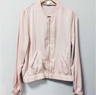 H&M Pink Bomber Jacket