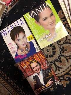 Majalah WANITA (SITI NURHALIZA )
