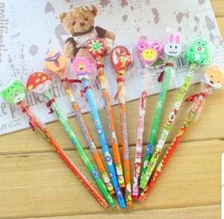 Cute Pencil Eraser