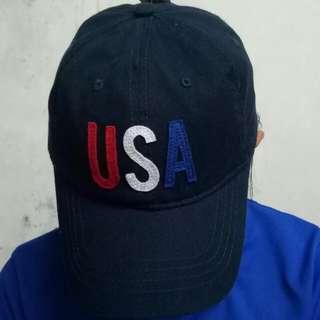 USA Dad Cap (Dark Blue)