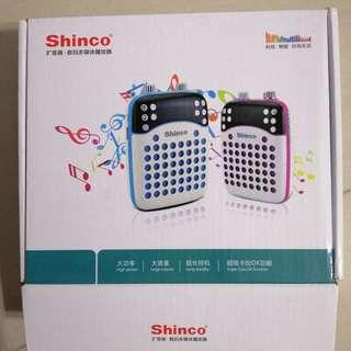 Shinco portable microphone/speaker