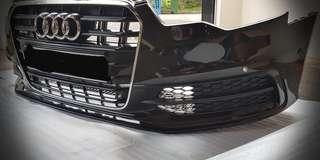 Audi A6 Original s.Line Grill & Bumper