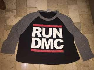 RUN DMC CROP TOP
