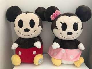 Authentic Disney Micky and Minnie toys -Xmas