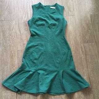 FOND Green Dress