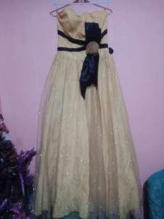 REPRICED!!!! Yellow Prom/Long Gown