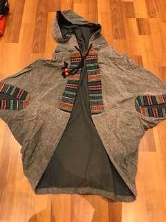 Tribal cape