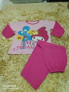 Baju tidur anak 7- 8 thn